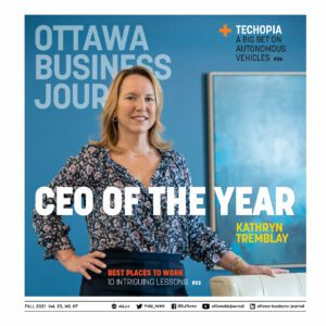 Kathryn Tremblay CEO of the year